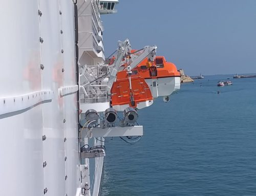 Navim is on MSC Bellissima!