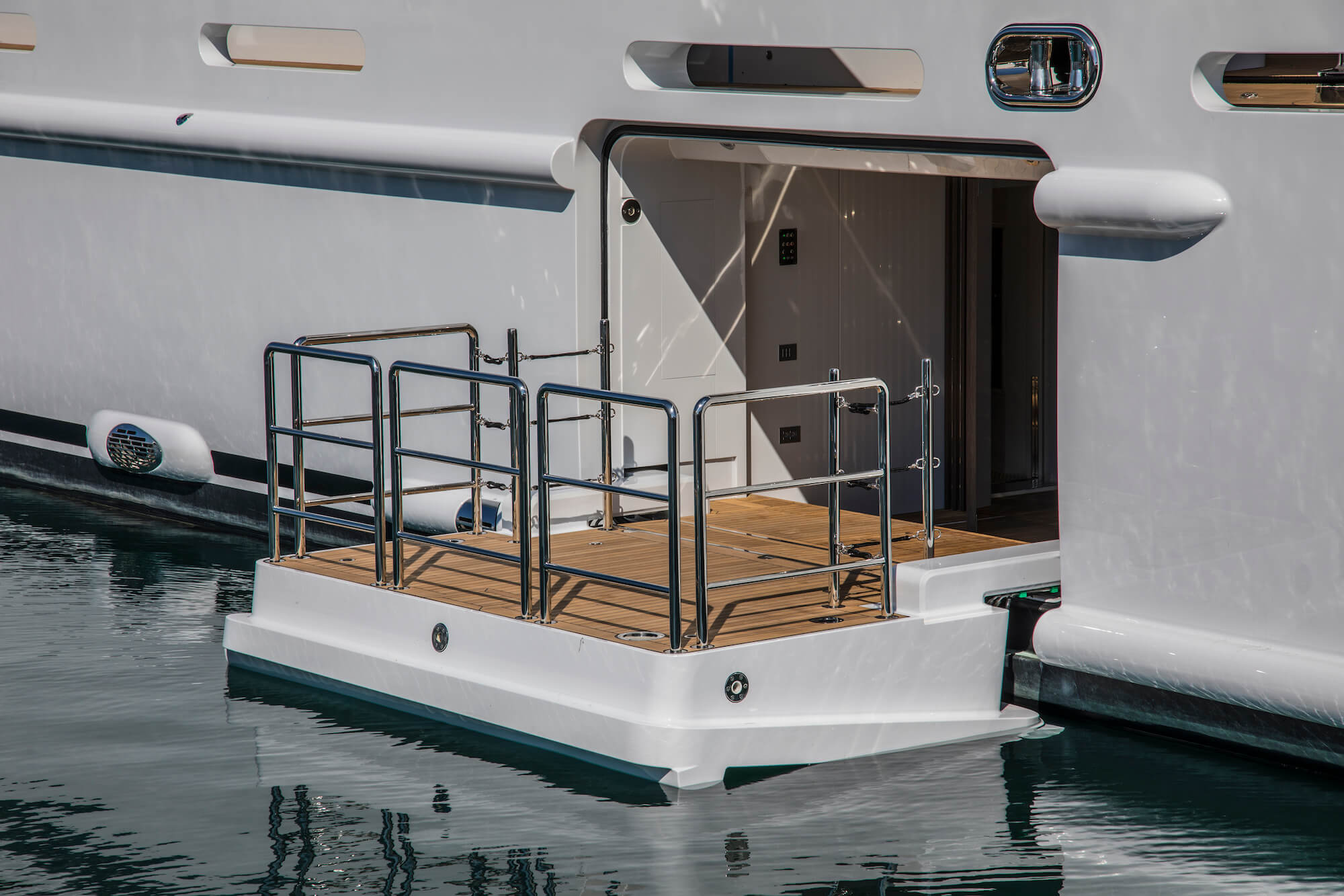 Navim Group designing and manufacturing marine equipment for Mega Yachts and Luxury Yachts
