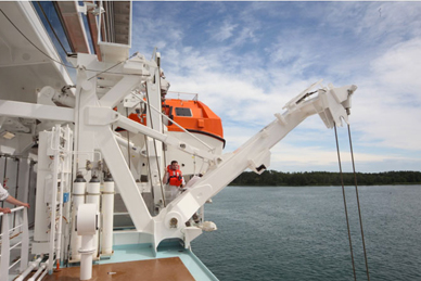 Navim is world market leader in Lifesaving Appliances (Davits and Winches)