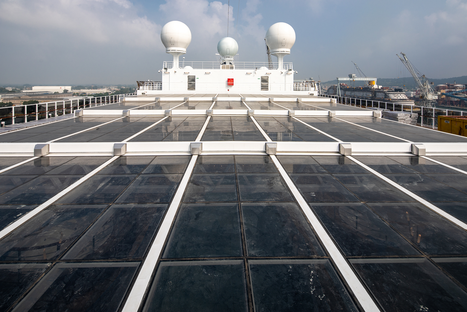 skydome magrodome navim cruise vessel