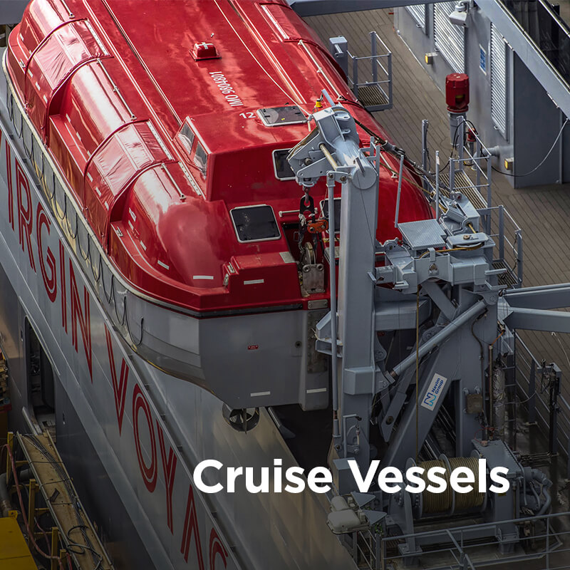 Navim Group solutions in construction and supply of marine equipment for Cruise Vessels
