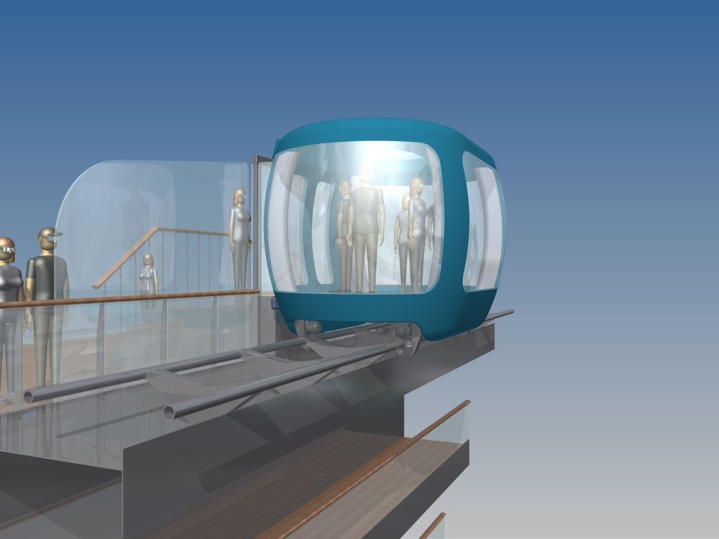 Panoramic Ship shuttle for Cruise Vessels - Navim Group