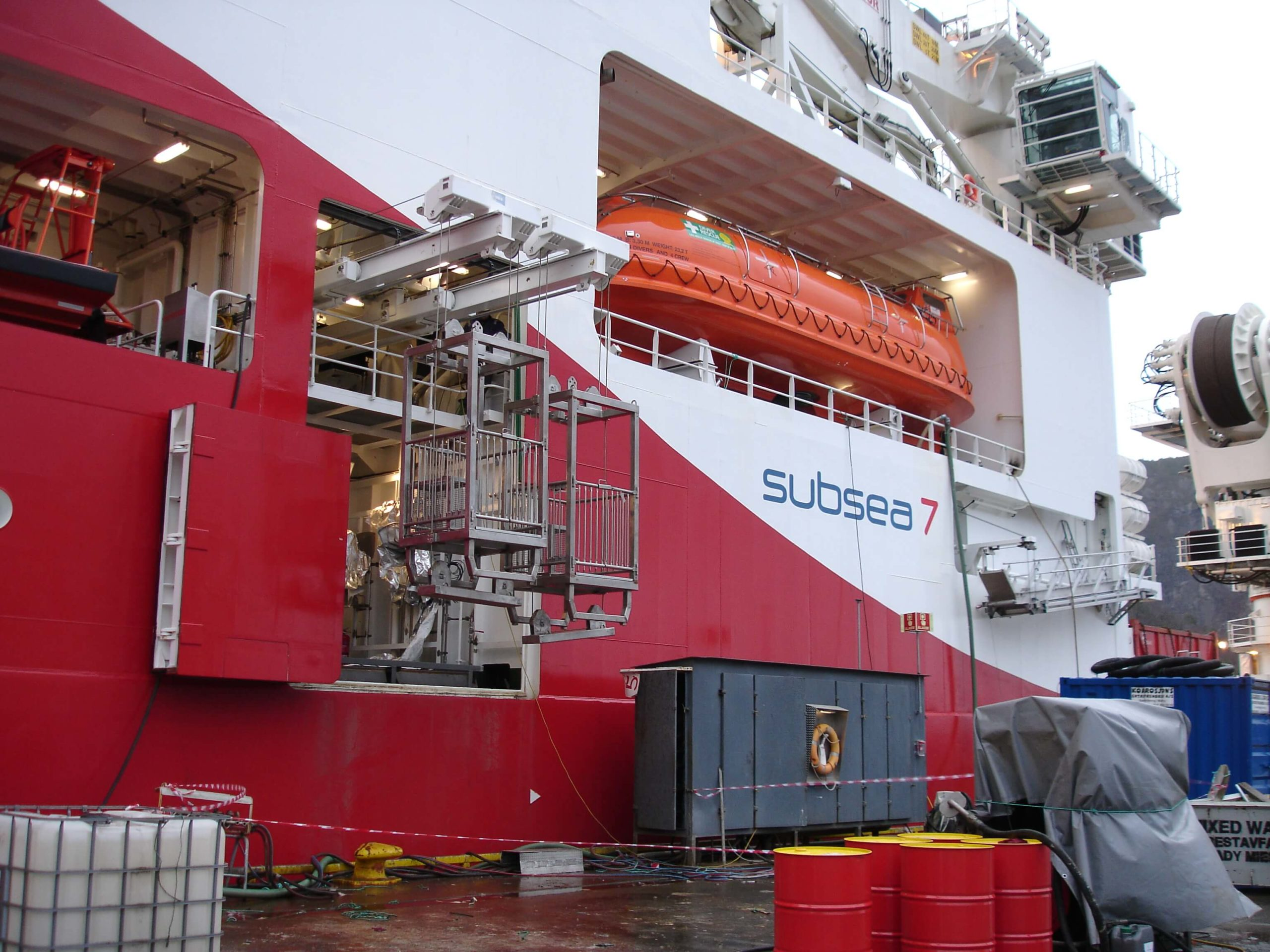 Offshore subsea 7