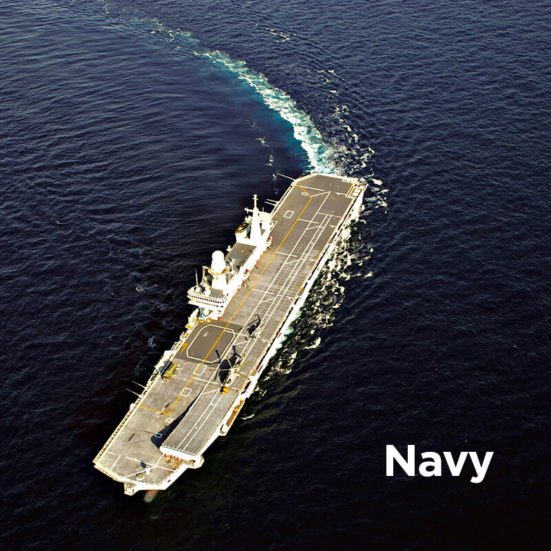 Navim Group solutions in construction and supply of marine equipment for Navy
