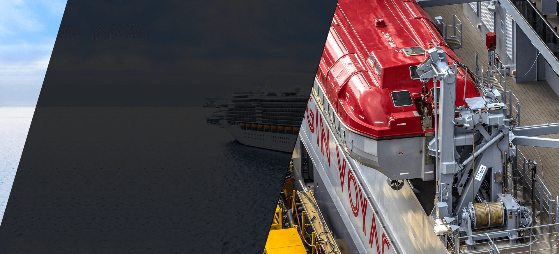 Navim Group Lifesaving Appliances (Davits & Winches) on Cruise vessels, Ferries & RoRo