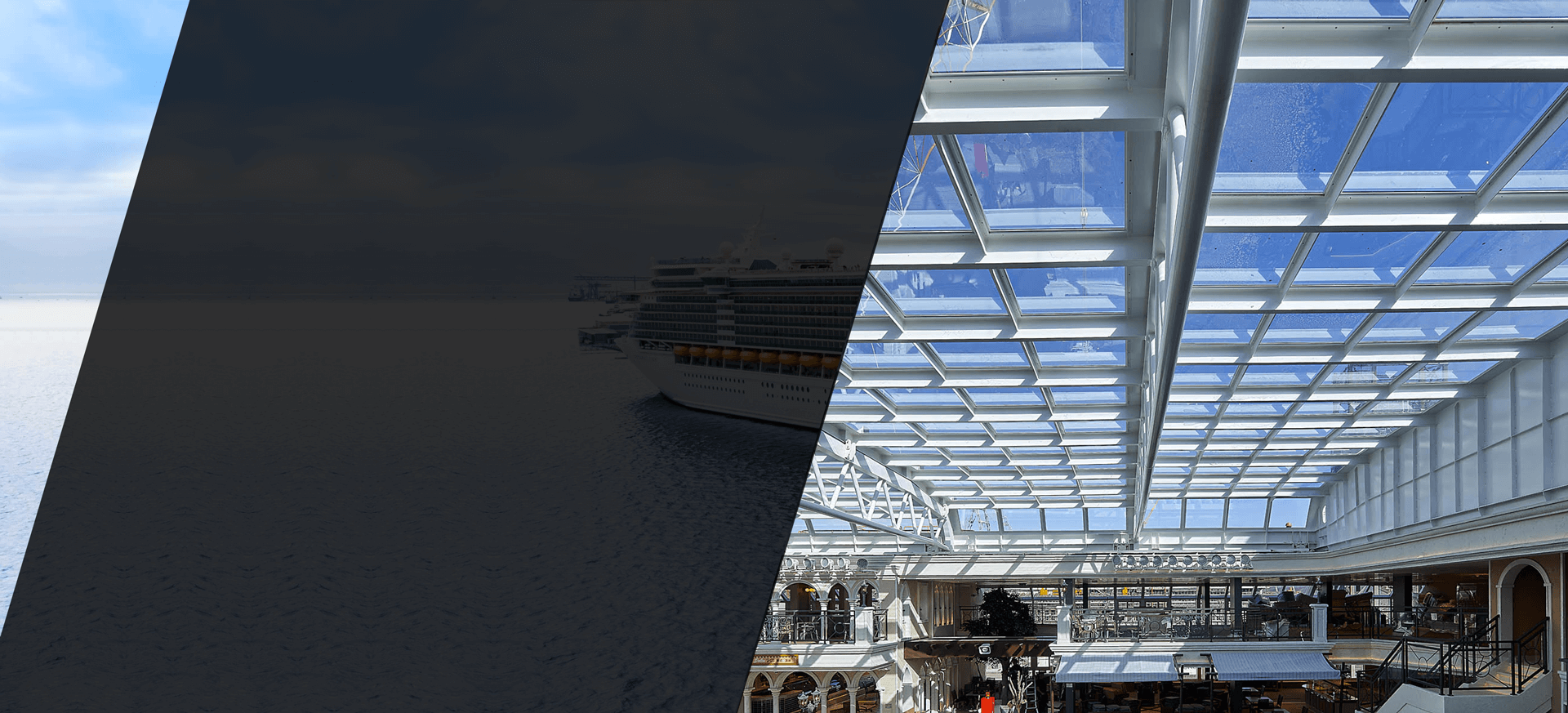 Navim Group Skydome™ Sliding Covers on Cruise vessels