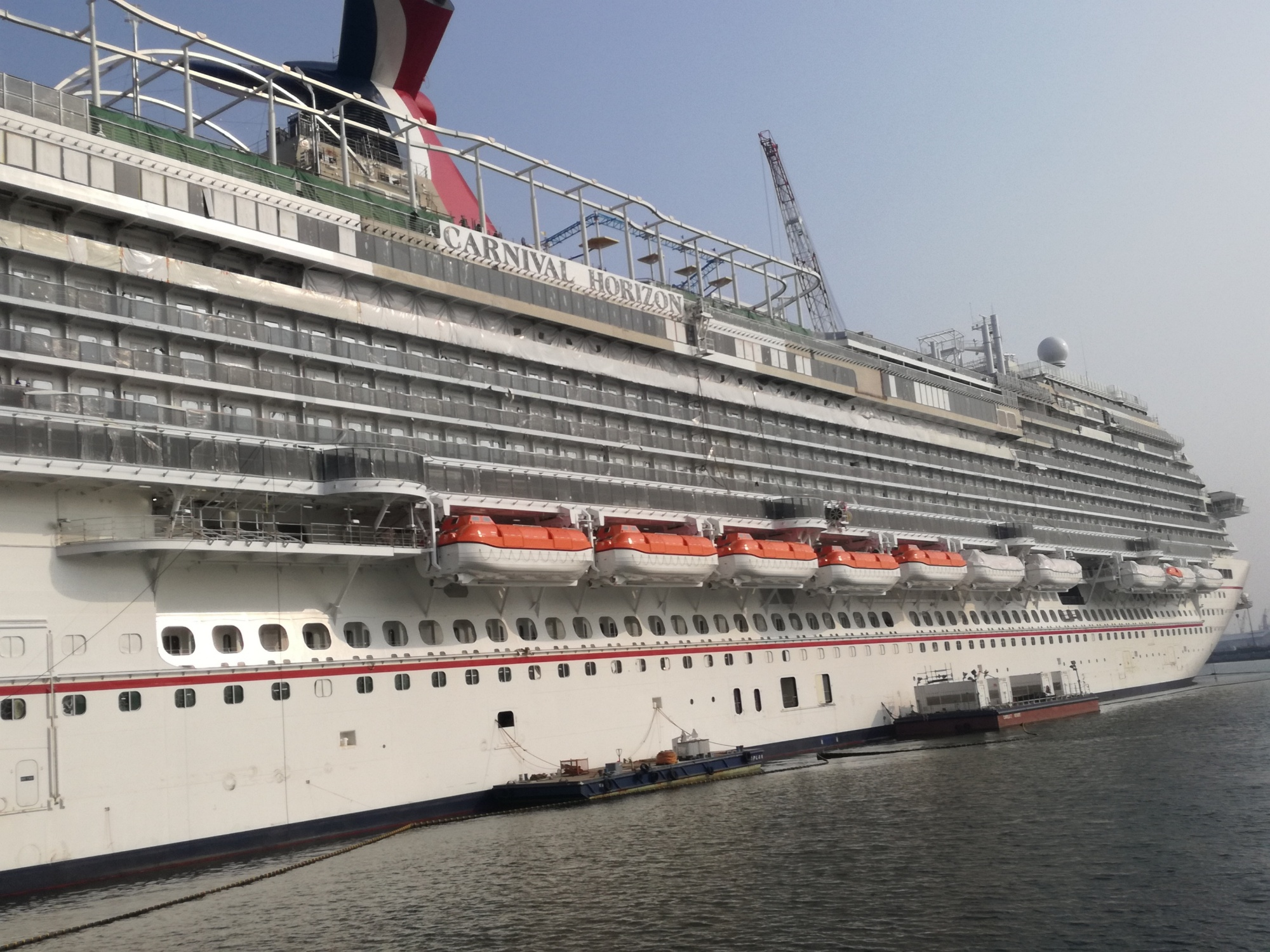 FOLS Davits Navim Cruise vessel